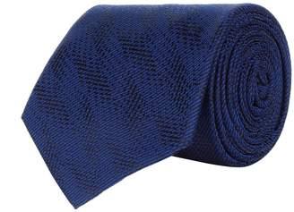 Giorgio Armani Tonal Jacquard Tie