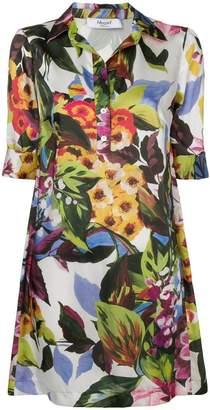Blugirl floral print shirt dress