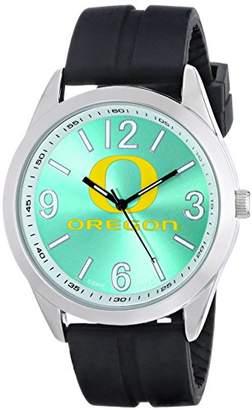 Game Time Men's COL-VAR-ORE Varsity Analog Display Japanese Quartz Black Watch