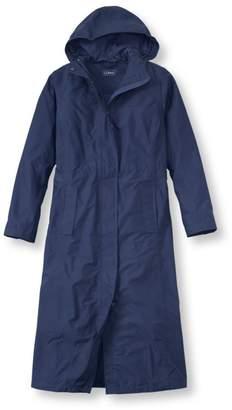 L.L. Bean L.L.Bean H2OFF Raincoat, Mesh-Lined Long