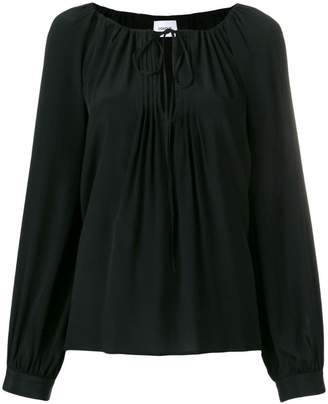 Dondup pleated detail blouse