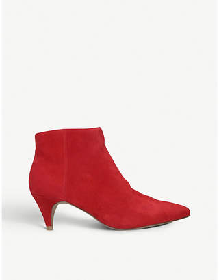 Steve Madden Lucinda suede ankle boots