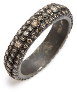 Women's Armenta Old World Eternity Diamond Stack Ring $1,290 thestylecure.com