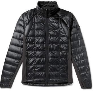 Canada Goose HyBridge Lite Slim-Fit Quilted Nylon Down Jacket - Men - Black