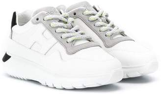 Hogan chunky lace up sneakers