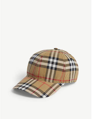 Burberry Vintage check cotton cap