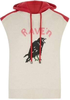 Burberry Sleeveless Rave'n Sweatshirt