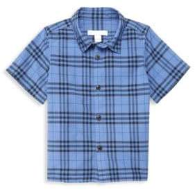 Burberry Little Boy's Sammi Check Cotton Shirt