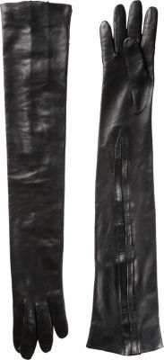 Haider Ackermann Long Leather Gloves