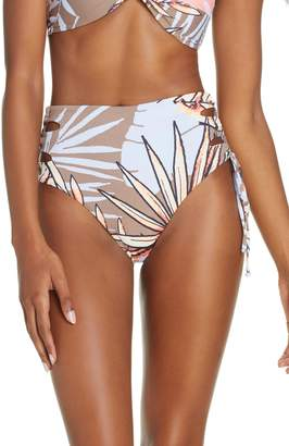 Maaji Ipanema Sunset High Waist Reversible Bikini Bottoms