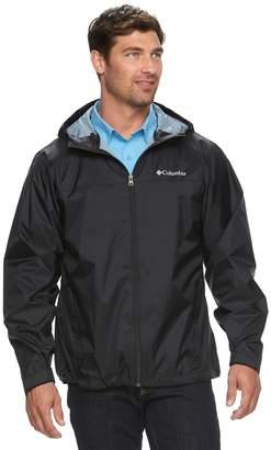 Columbia Big & Tall Weather Drain Rain Jacket