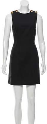 Dolce & Gabbana Embellished Open Back Dress Black Embellished Open Back Dress