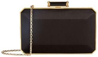 Judith Leiber Soho Satin Box Clutch