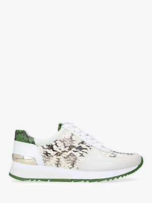 Michael Kors MICHAEL Allie Lace Up Trainers, Natural