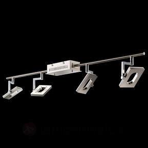 Vierflammige LED-Spotschiene Shine