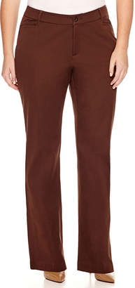 ST. JOHN'S BAY Bi-Stretch Pants - Plus
