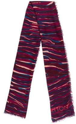 Louis Vuitton Cashmere & Silk-Blend Zebra Stole