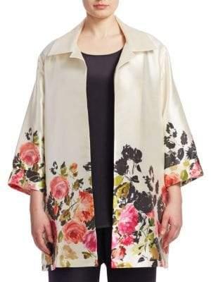 Caroline Rose Floral Party Jacket
