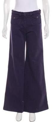 Sonia Rykiel Mid-Rise Wide-Leg Jeans