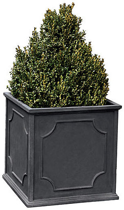 "Campania International 19"" Cumberland Outdoor Planter - Lead"