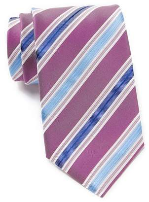 BOSS Silk Contrasting Stripes Tie