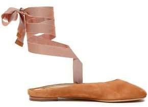 Michael Kors Suede Slippers
