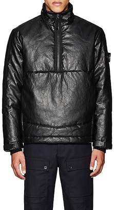Barneys New York Stone Island XO STONE ISLAND XO MEN'S INSULATED LEATHER COAT