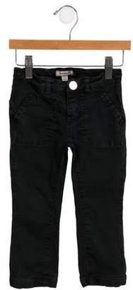Burberry Girls' Mid-Rise Straight-Leg Jeans