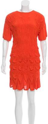 Jean Paul Gaultier Ruched Mini Dress