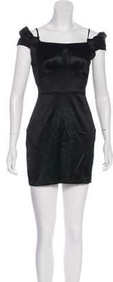 Zac Posen Sleeveless Mini Dress