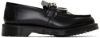 Dr. Martens Black and Tan Adrian Snaffle Loafers