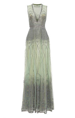 Cucculelli Shaheen Gothico Silver Gown
