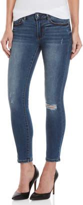 Bebe Heartbreaker Ankle Skinny Jeans