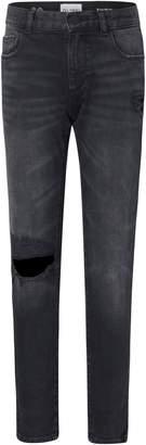 DL1961 Zane Distressed Super Skinny Jeans