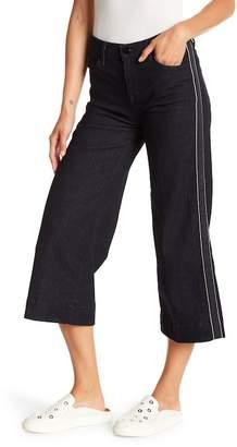 J Brand Liza Mid Rise Wide Leg Culottes