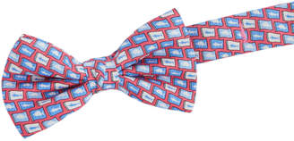 Vineyard Vines Boys Fish Flag Bow Tie