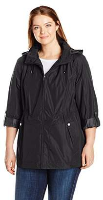Details Women's Plus Size Water Resistant Jacket