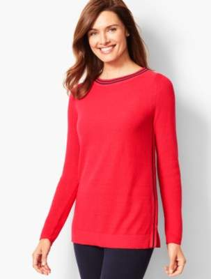Talbots Side-Stripe Pullover