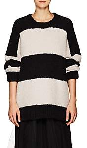 Amiri Women's Striped Sweater - Black