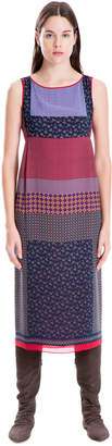 Max Studio blocked paisley printed dress