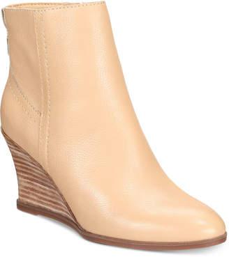 Lucca Lane Zippy Wedge Booties Women's Shoes