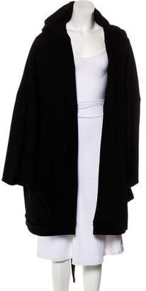 Sonia Rykiel Hooded Knit Coat