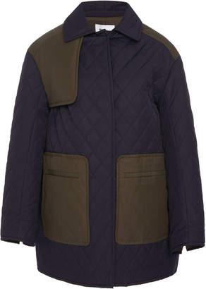 Becken Quilted Cotton-Blend Chore Coat