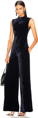 Stella McCartney Sleeveless Velvet Jumpsuit