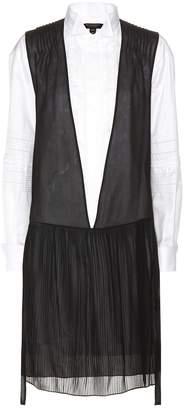 Burberry Silk and cotton shirt dress