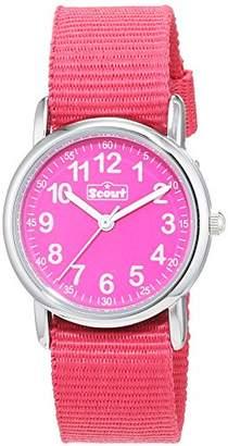 Scout Girls' Analogue Quartz Watch with Textile Strap 280304001