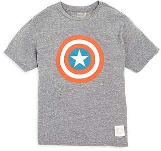 Original Retro Brand Boys' Captain America Tee - Big Kid