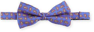 Etro Pre-Tied Patterned Silk Bow Tie