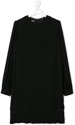 DSQUARED2 TEEN pleated detail dress