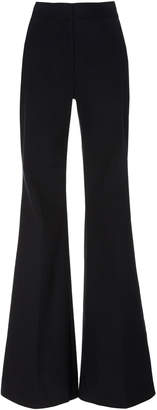 ADAM by Adam Lippes High-Rise Flared Cady Pants